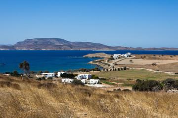 Schinoussa, Livadi beach view - South Aegean, Greece