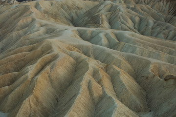 View from Zabriskie Point in Death Valley National Park, California, USA