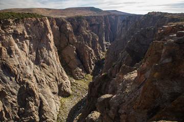 Black Canyon of the Gunnison park in Colorado, USA