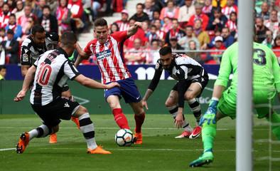 La Liga Santander - Atletico Madrid vs Levante