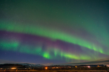 Aurora Borealis, Northern lights in Iceland