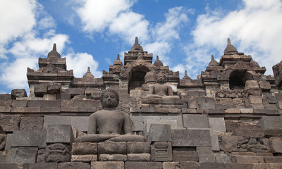 Borobudur temple in Indonesia