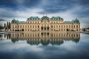 Belvedere Palace, Vienna, Austria.