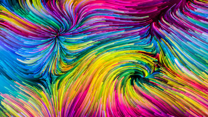 Colorful Paint Elegance