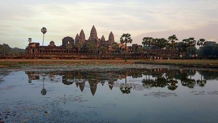 afternoon at angkor wat temple