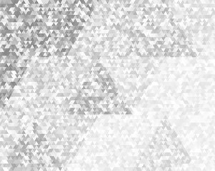triangle mosaic black white gradient background design elements07