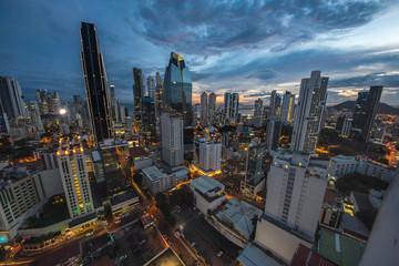 Fototapete - Panama city