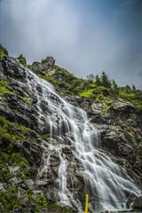 Waterfall blurred