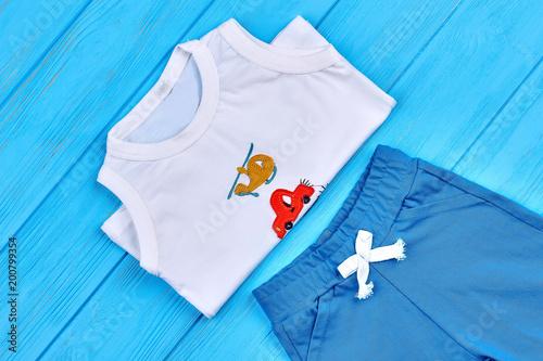 af3d23a2c Set of beautiful kids cotton apparel. Cotton childs t-shirt and ...