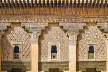madrasah, school of the Coran in Marrakesh