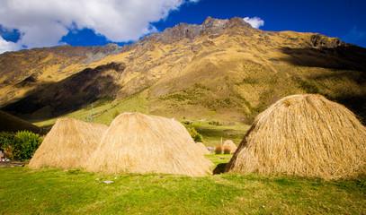 salkantay trek camping huts