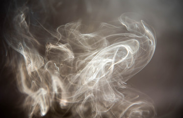 Smoke Finger Background