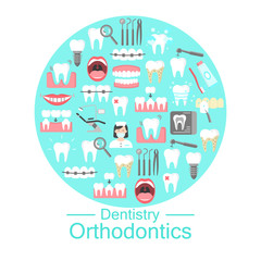 Dentistry and orthodontics banner