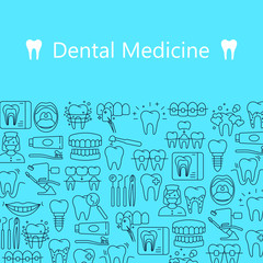 Dentistry and orthodontics pattern