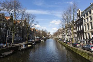 Amsterdam in Netherlands, Europe
