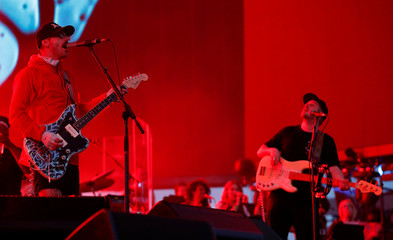 Gourley of Portugal. The Man performs at the Coachella Valley Music and Arts Festival in Indio