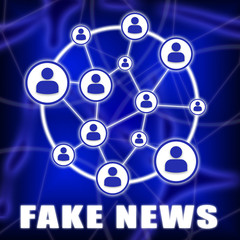 Social Media Network Fake News 3d Illustration