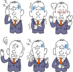 ビジネスマン 病気 6種類の症状