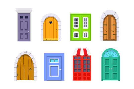 Doors Cartoon Photos Royalty Free Images Graphics Vectors Videos Adobe Stock
