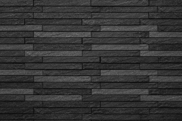 Black brick wall background