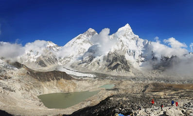 Everest & Lhotse from Kalapattar, 5545m