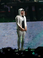 Eminem performs at the Coachella Valley Music and Arts Festival in Indio