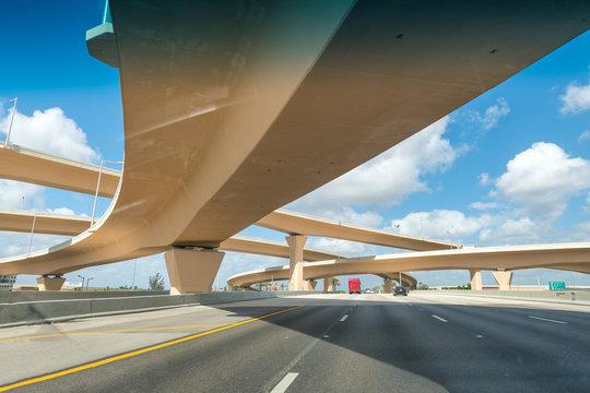 Crossing interstates in Florida