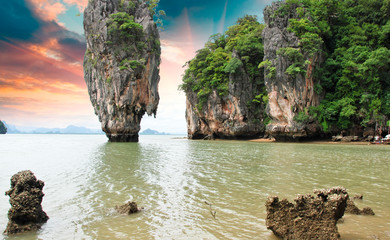 James Bond Island Rocks