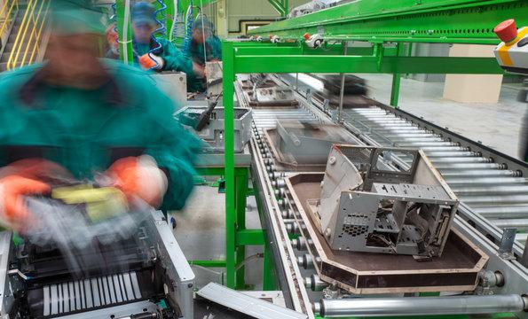 Recycling Factory Electronics