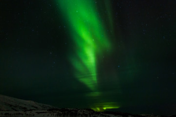 Polarlicht über Nord-Norwegen