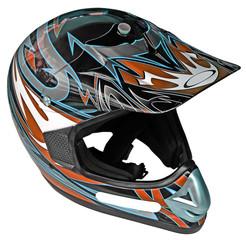 Papier Peint - casque moto