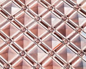 Symmetric varitone pattern texture background