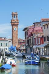 Fototapete - Murano island, Venice, Italy.