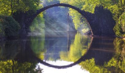 Devils Bridge in Kromlau.