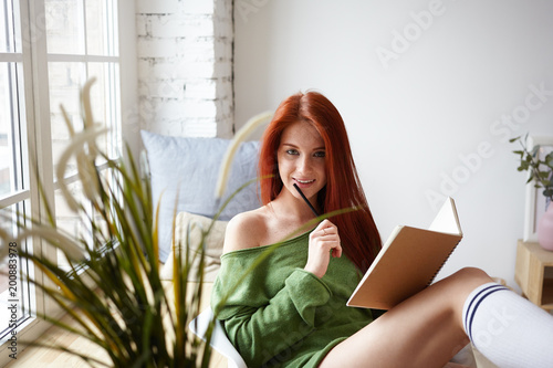Redhead Fucked Sex Machine