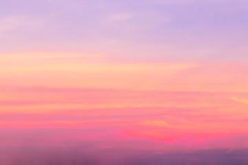 Aluminium Prints Heaven sunset sky background, colorful nature texture