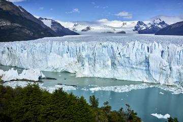 Printed kitchen splashbacks Glaciers Famed Perito Moreno Glacier in Patagonia