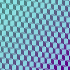 Abstract geometric fashion design