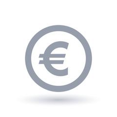 Euro money symbol - European currency icon
