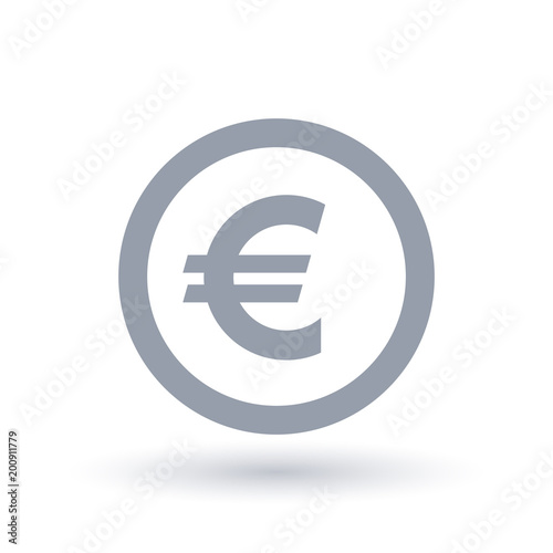 Euro Money Symbol European Currency Icon Stock Image And Royalty
