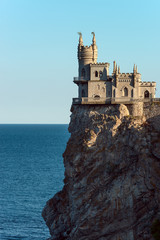"""swallow's nest"" castle on peninsula Crimea"