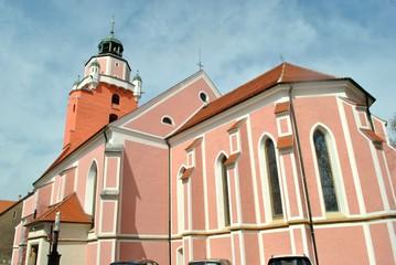 Poster Monument Kościół Pw. Świętych Apostołów Piotra i Pawła w Kątach Wrocławskich