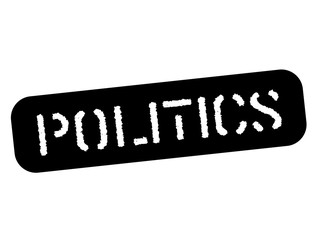 Politics black stamp, sign, label Black stencil series