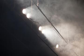 many theater flood lights