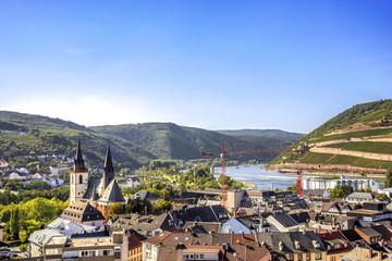Bingen am Rhein, Basilika und Rhein