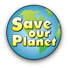 Save our Planet Earth Logo