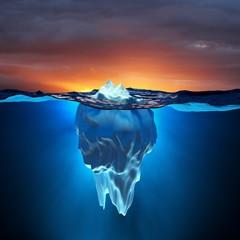 Eisberg / Globale Erwärmung / Klimawandel