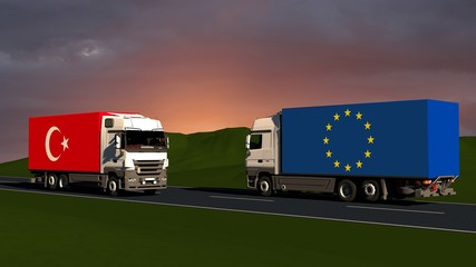 Trade restrictions between europe and turkey