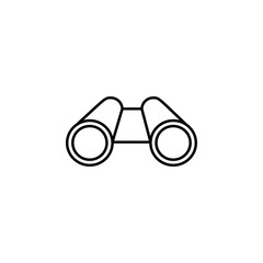 binoculars icon. Element of diving, fishing and hunting for mobile concept and web apps. Thin line icon for website design and development; app development. Premium icon