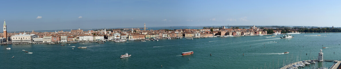 Panoramic View of Venice from Giudecca